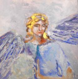 Picturi religioase Inger violet