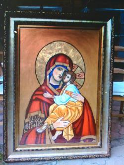 Picturi religioase MAICA DOMNULUI CU PRUNCUL ISUS  1