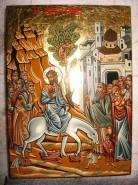 Picturi religioase Intrarea lui isus in ierusalim