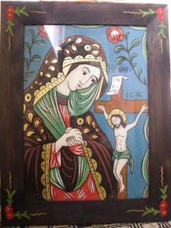 Picturi religioase Maica Domnului Jalnica