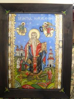 Picturi religioase Sf. Haralambie