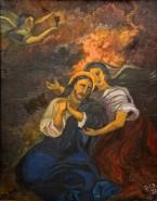 Picturi religioase Ingerul a vestit
