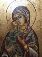 Picturi religioase Fecioara cu pruncul 1