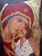 Picturi religioase Fecioara cu pruncul 3