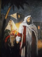 Picturi religioase Fuga in egipt