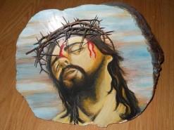 Picturi religioase Icoana iisus hristos cu coroana de spini