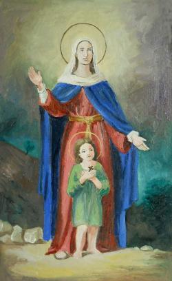 Picturi religioase Santa Julita e Ciro