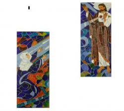 Picturi religioase Isus si Sf. Margareta