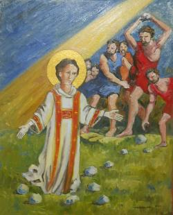 Picturi religioase Martiriul Sf. Stefan