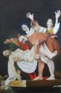 Picturi religioase Punerea in mormant