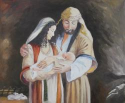 Picturi religioase Sf. Familia 2