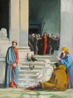 Picturi religioase Tradarea Lui Isus