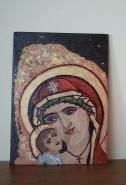 Picturi religioase Maica si pruncul