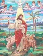 Picturi religioase Pastorul lumii