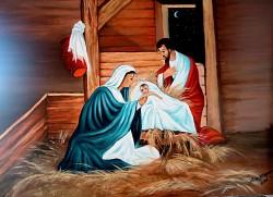 Picturi religioase Nasterea  lui iisus