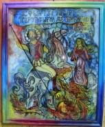 Picturi religioase Sf. gheorghe omorand balaurul