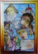Picturi religioase Sfanta familie