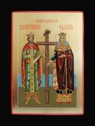 Picturi religioase Sfintii imparati constantin si elena