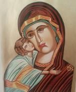 Picturi religioase Mantuitorul si maica domnului