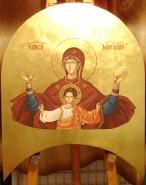Picturi religioase Maica domnului iconostas