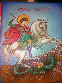 Picturi religioase Sfantul Gherghe