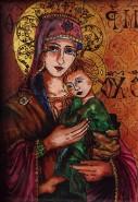 Picturi religioase Maria si fiul