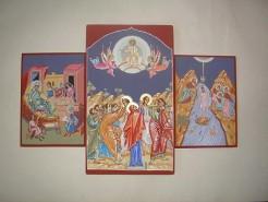Picturi religioase Icoane pe lemn