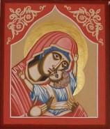 Picturi religioase Maica domnului cu pruncul iisus hristos