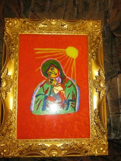 Picturi religioase icoana sticla