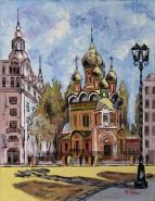 Picturi religioase Biserica rusa  a studentilor