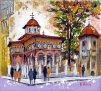 Picturi religioase Biserica si clopotnita stavropoleos