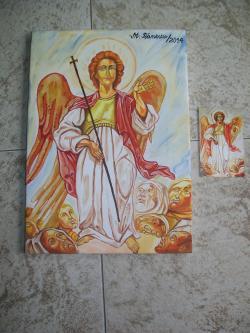 Picturi religioase Arhanghelul Mihail...reproducere