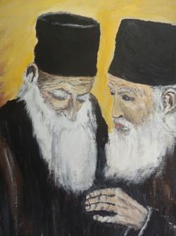 Picturi religioase Calugari