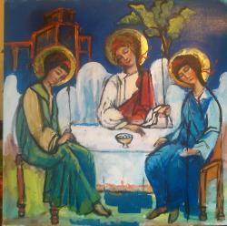Picturi religioase O alta sfânta treime