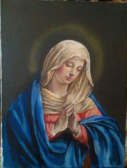 Picturi religioase Ruga fecioarei