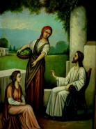 Picturi religioase Iisus si marta1