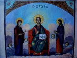 Picturi religioase Tablou deisis3