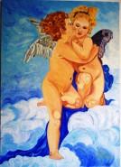Picturi religioase Sarutul ingerilor