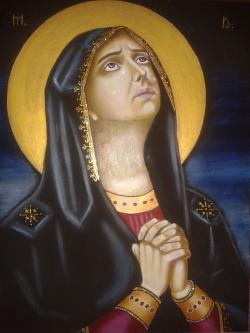 Picturi religioase = Maica Domnului =