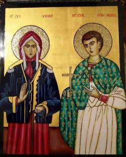 Picturi religioase Sf. Cv. Xenia si Sf Ioan Rusul