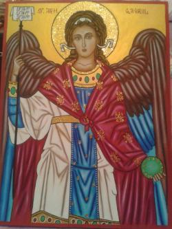 Picturi religioase Sf Arh Gavril