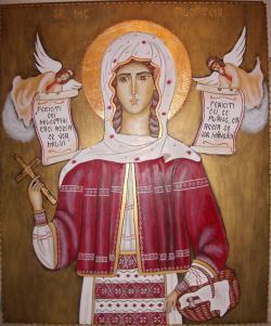 Picturi religioase = Sf Filofteia =