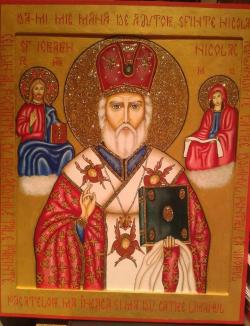 Picturi religioase = Sfantul Nicolae =