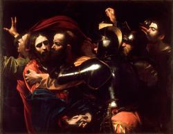 Picturi religioase Tradarea lui Isus reproducere