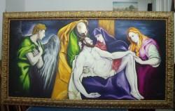 Picturi religioase Coborarea de pe cruce
