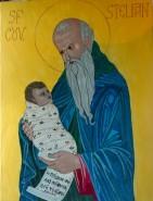 Picturi religioase Sfantul stelian