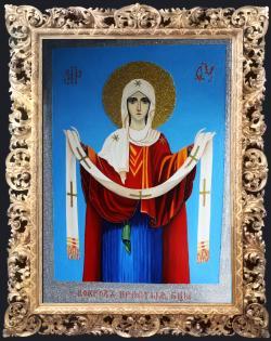 Picturi religioase Acoperamantul Maicii Domnului