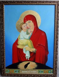 Picturi religioase Icoana Maicii Domnului de Poceaev