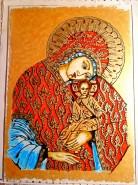 Picturi religioase Maica domnului cu pruncul isus