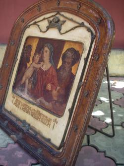Picturi religioase maria pruncul si sfintii